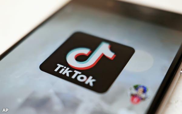 TikTokはソニーと楽曲使用に関する契約を更新した=AP