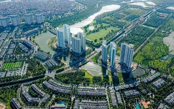 ベトナムのデベロッパーのエコ社が進める大規模開発「エコパークプロジェクト」