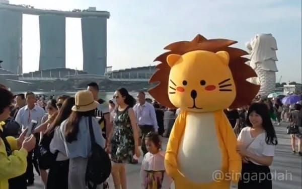 シンガポーラーの同名キャラクターはシンガポール政府機関も採用