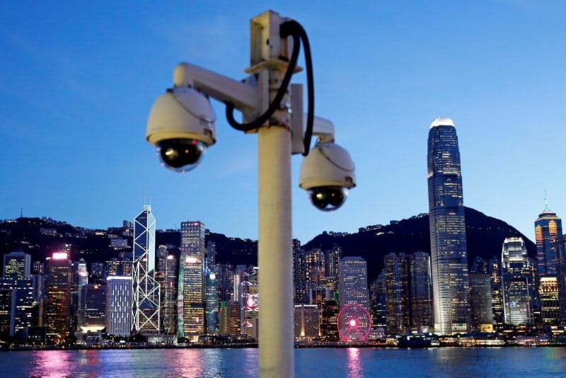 香港が監視社会になりつつある(7月)=ロイター
