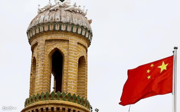 中国の人権問題への国際社会の懸念は強まっている(中国の新疆ウイグル自治区)=ロイター