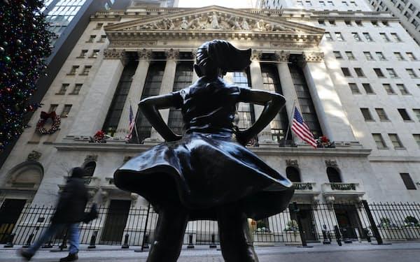 米大統領選の勝者が決まらない中でも、市場関係者は米国株の先行きに強気だ(ニューヨーク証券取引所)