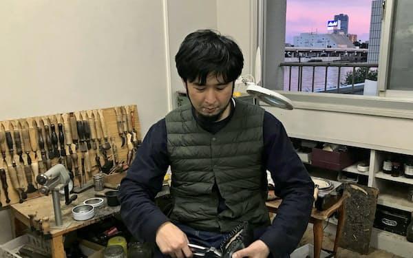 アリマヨリユキさん(10月、東京都台東区の奥浅草)