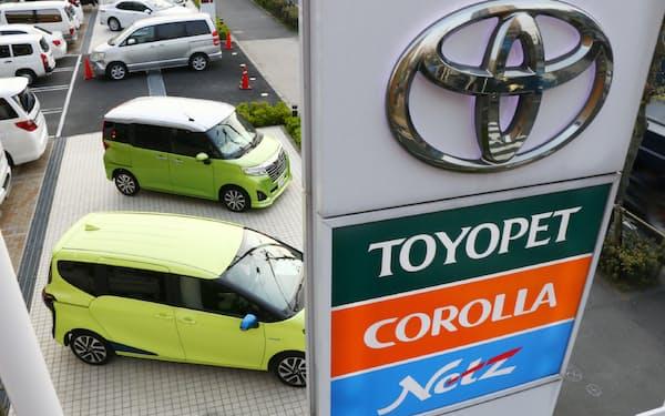 トヨタは4系列ある国内販売店で全車種を扱っている。足元の需要は復調している。