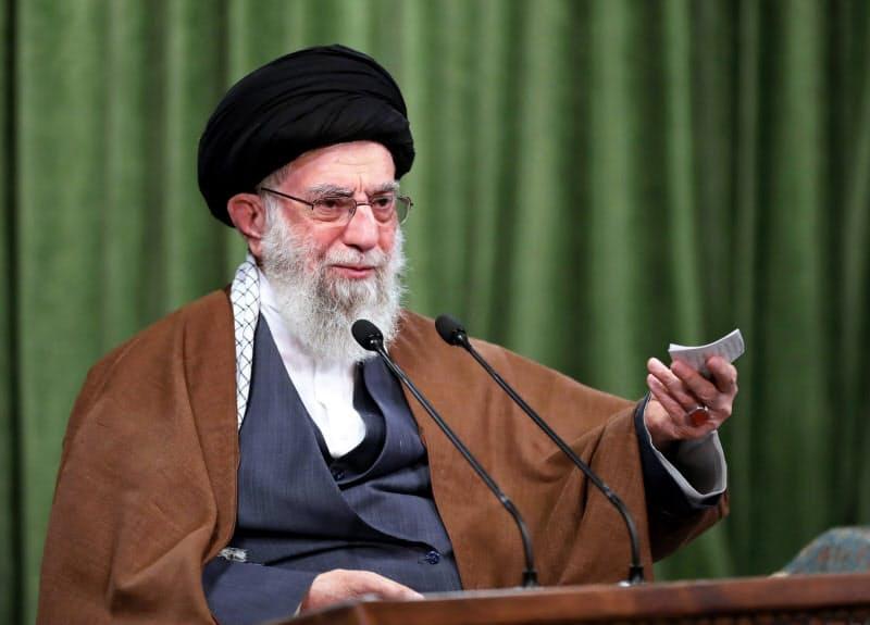 イランの最高指導者ハメネイ師=最高指導者事務所・AP