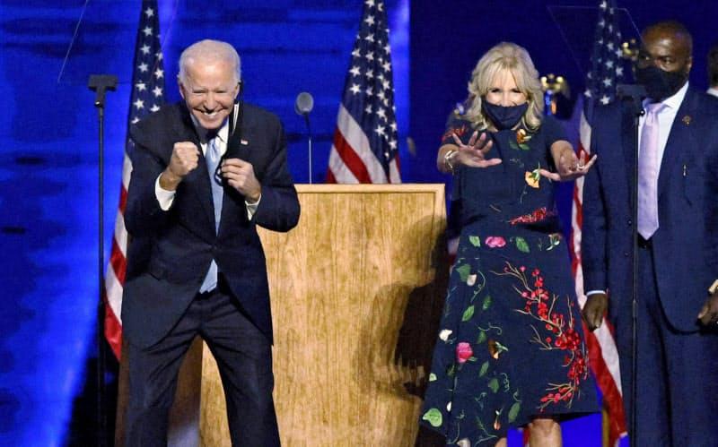 米大統領選で当選確実、バイデン氏のこれまで(写真特集)