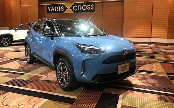 トヨタは売れ筋のSUVで新車を相次ぎ投入している(8月発売のヤリスクロス)