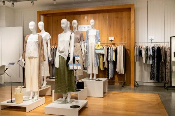 fifthは8月から期間限定のショールーミング店舗をオープンした(東京・渋谷)