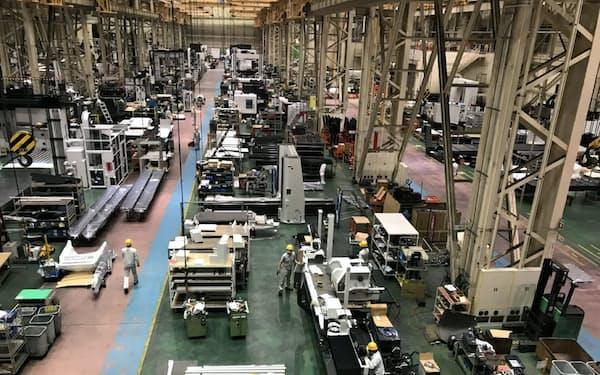 オークマの可児工場(岐阜県可児市)
