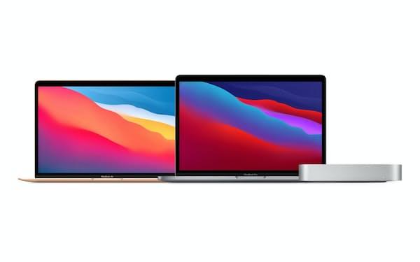 アップルの独自チップを搭載する新しいMac