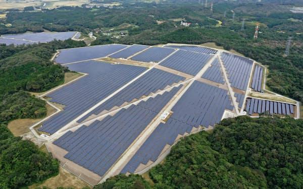 宮城県松島町に完成したメガソーラー「松島どんぐり太陽光発電所」