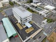 オーケーエムの研究開発センター(滋賀県野洲市)