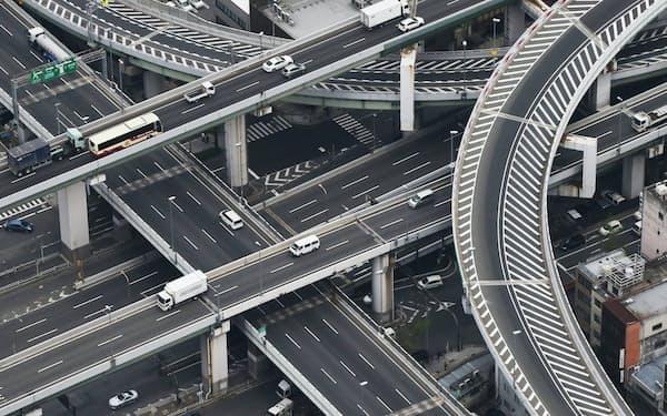 阪神高速道路(大阪市)