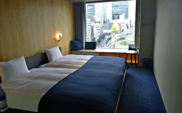 不動産会社の都心部のホテル事業は回復途上にある