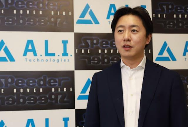 片野大輔・A.L.I.テクノロジーズ社長