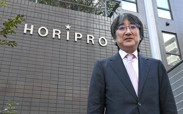 堀義貴・ホリプロ社長