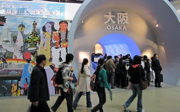 大阪は唯一、上海万博に日本の都市として参加した
