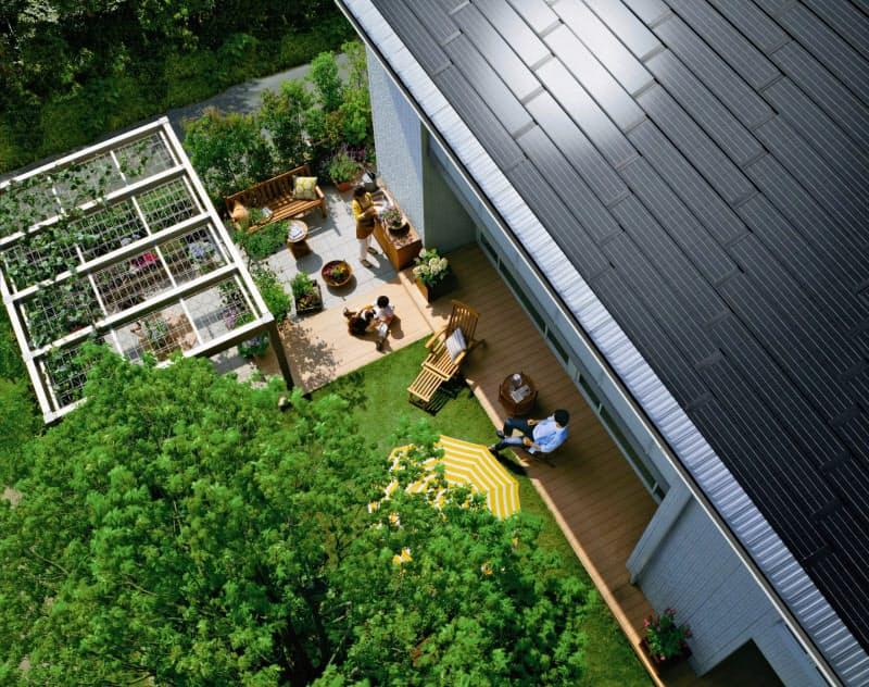 積水ハウスはエネルギー消費が実質ゼロになる住宅を販売する