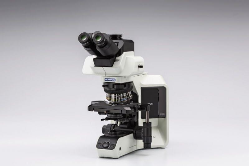 オリンパスが病理医向けに提供している研究用の顕微鏡
