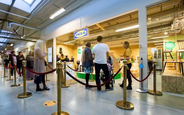 イケアは中古家具専門店をまず半年間、実験的に運営する(スウェーデン南部エシルストゥーナ)=イケア提供