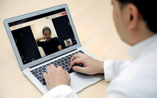 日本のスタートアップ、メドレー(東京・港)も遠隔診療に取り組んでいる=ロイター