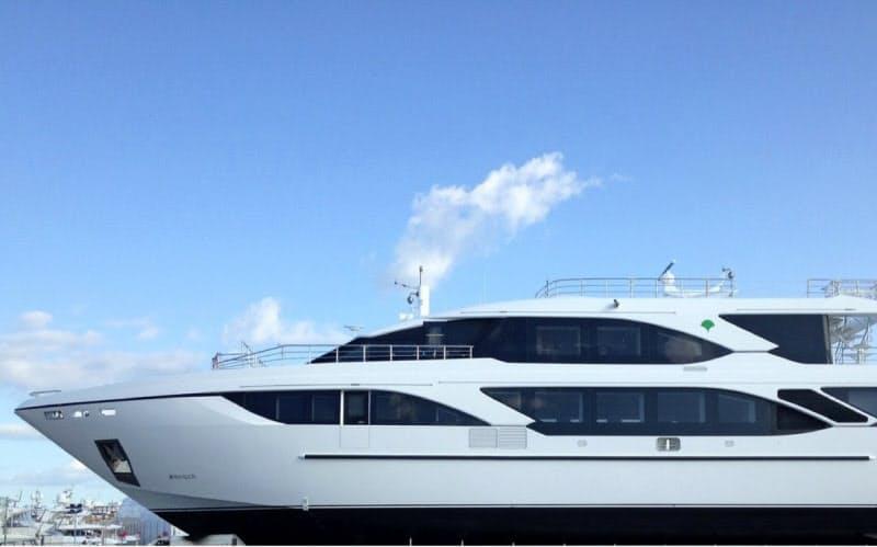 新視察船の「東京みなと丸」が就航する(東京都港湾局提供)
