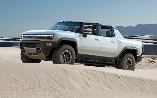 GMが21年に発売する「ハマーEV」は1000馬力を誇る