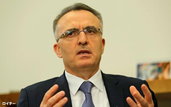 トルコ中銀のアーバル新総裁=ロイター