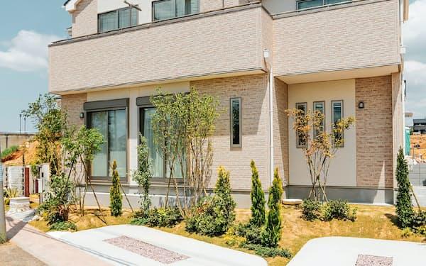 マンションに比べ広いスペースが確保しやすい一戸建ての需要が伸びる