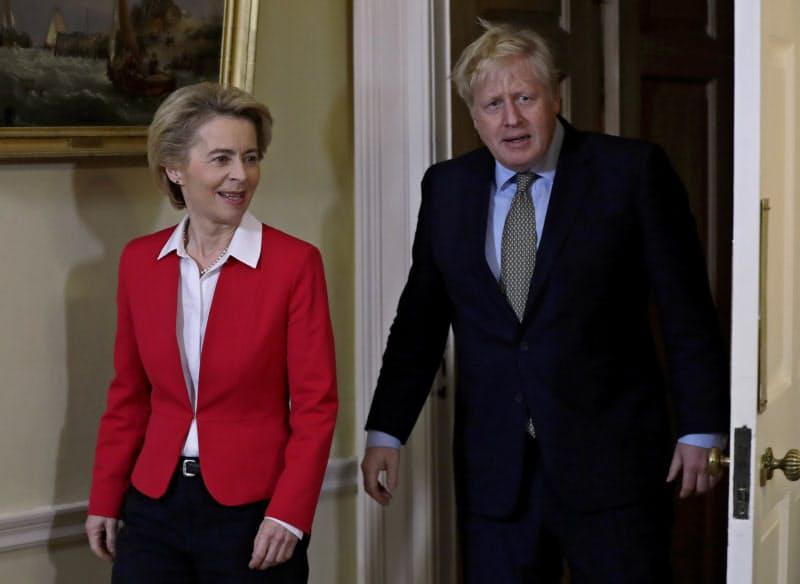 英国とEUの交渉は大詰めに=AP