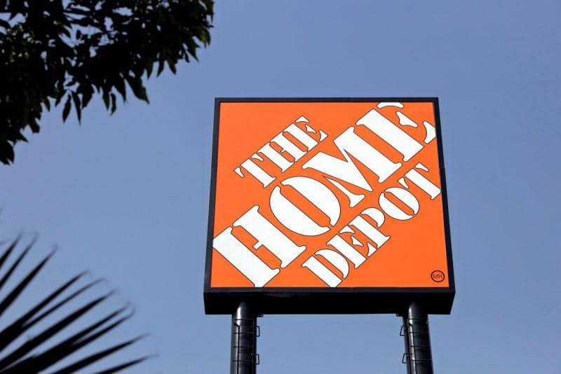 ホーム・デポの8~10月期決算は家屋改修用品の需要が高く好調だった=ロイター