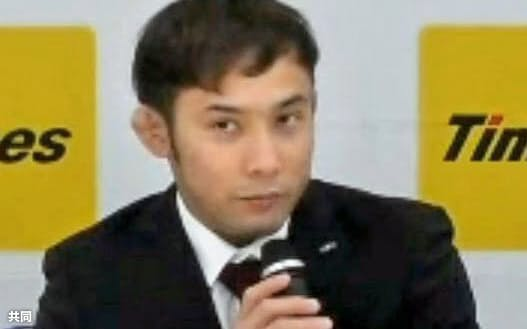 オンラインで取材に応じる東京五輪柔道男子60キロ級代表の高藤直寿(18日)=共同