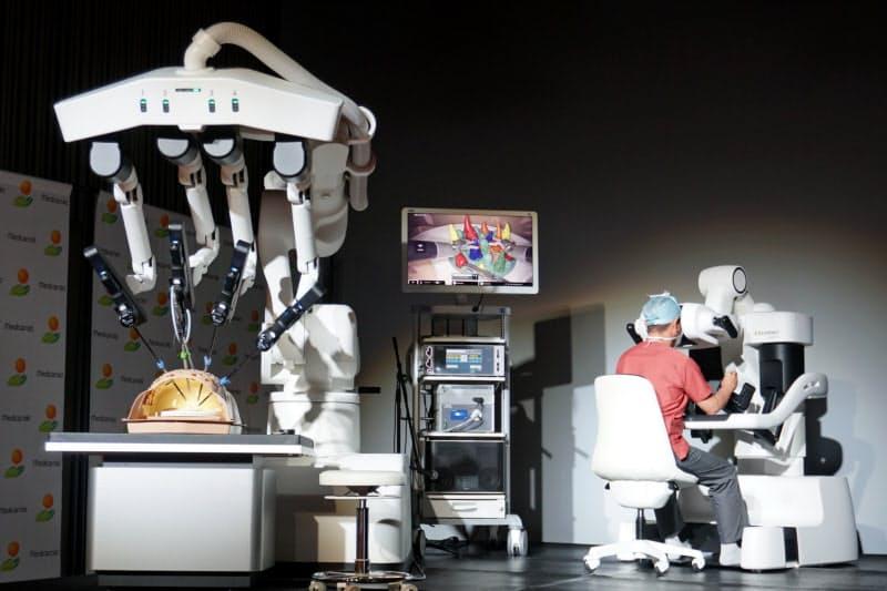 メディカロイドの手術支援ロボット