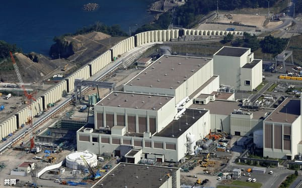 東日本大震災の被災地にある原発として、女川原発の再稼働は最初の事例になる見込み=共同