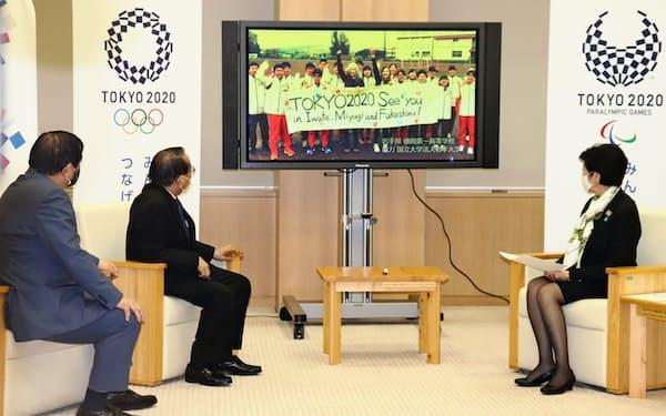 東京都は東日本大震災の被災地を応援する映像を制作した