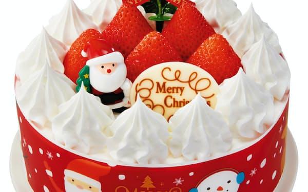 ひとり親家庭1000世帯に約3000円のクリスマスケーキを無償提供する