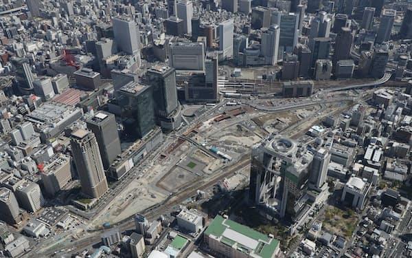 JR大阪駅北側の再開発地区「うめきた2期」