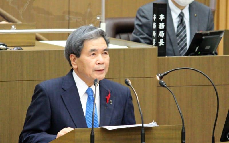 川辺川ダム容認を表明 熊本知事、7月豪雨で転換