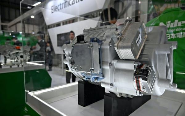 日本電産は海外の自動車向け需要が業績を引っ張る(EV用駆動モーター)