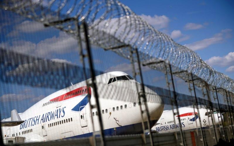 BAは英米間の渡航激減で大きな影響を受けた=ロイター