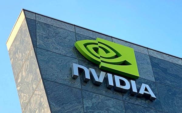 ゲーム業界の活況で、エヌビディアのパソコン用GPUも品薄の状況が続く(写真はシリコンバレーの社屋)