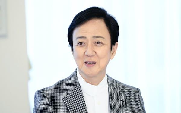 12月歌舞伎座公演について話す玉三郎(C)松竹