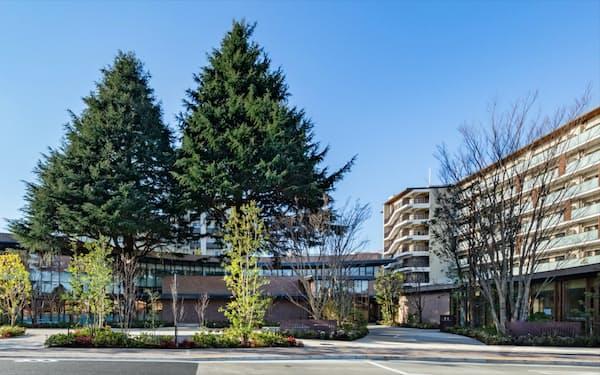 郊外にある新築マンションの需要が高まっている(東京都三鷹市)