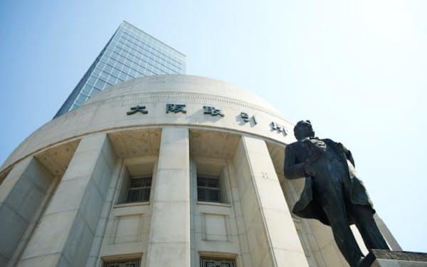 7月には大阪で金融と商品の先物取引を扱う総合取引所が誕生した(大阪市)