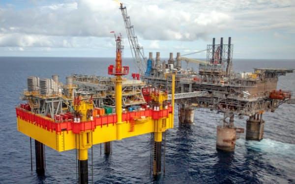 フィリピンで唯一操業するマランパヤ・ガス田(南西部パラワン島沖)