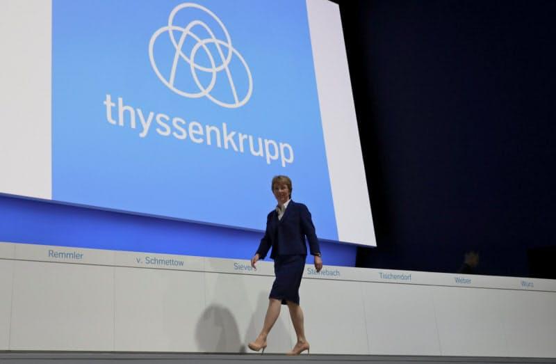 ティッセン・クルップの構造改革は終わりが見えない=ロイター