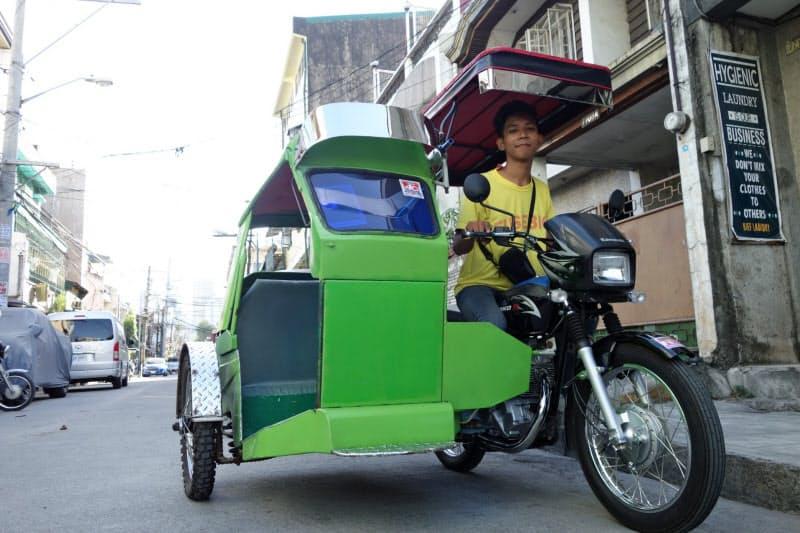 GMSはフィリピンで3輪タクシー向けに提供していた金融サービスを日本に持ち込んだ(写真は2016年)