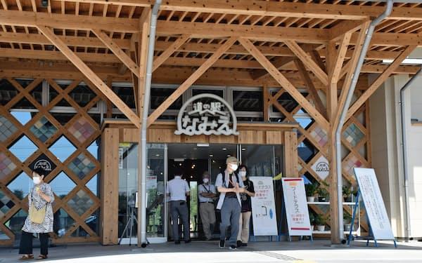 無印良品が出店する道の駅なみえ(福島県浪江町)