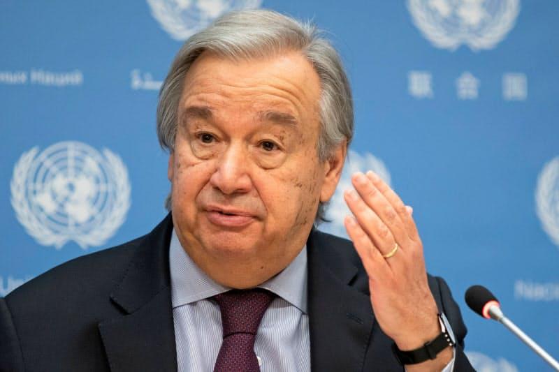 グテレス国連事務総長は20カ国・地域首脳会議(G20サミット)を前にコロナ禍における各国の「連帯と協力」を訴えた=ロイター
