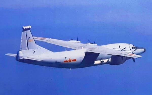 中国軍機は連日、台湾の防空識別圏に侵入し軍事圧力を強めている=国防部提供